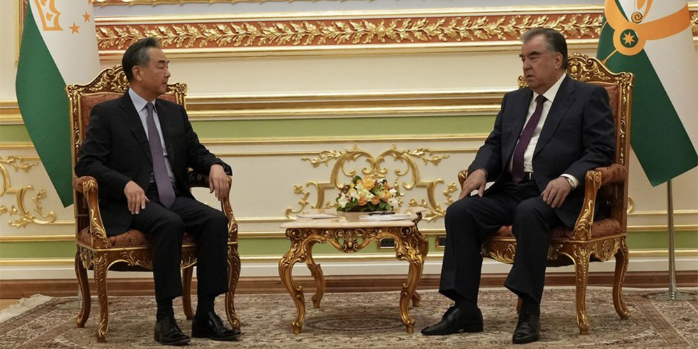 Presidente tadjique diz estar disposto a fortalecer a cooperação com a China