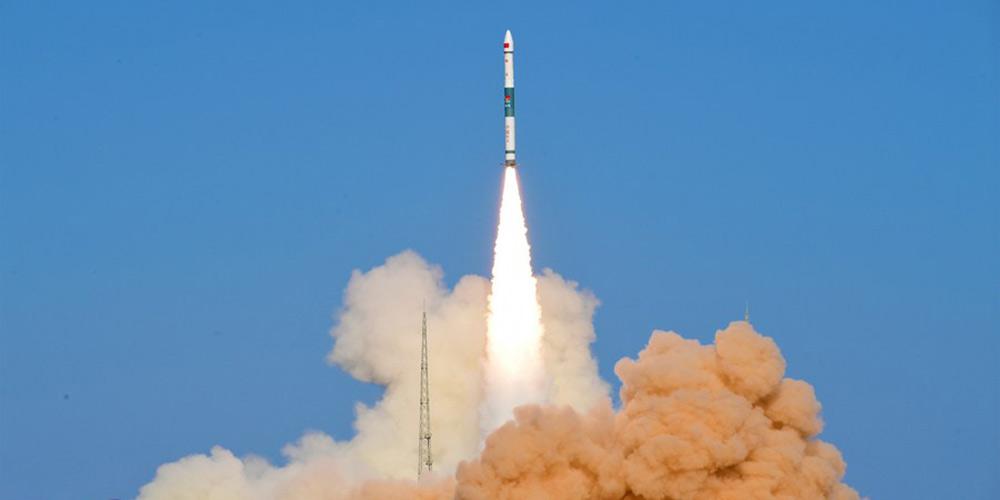 Foguete Kuaizhou-1A da China lança satélite