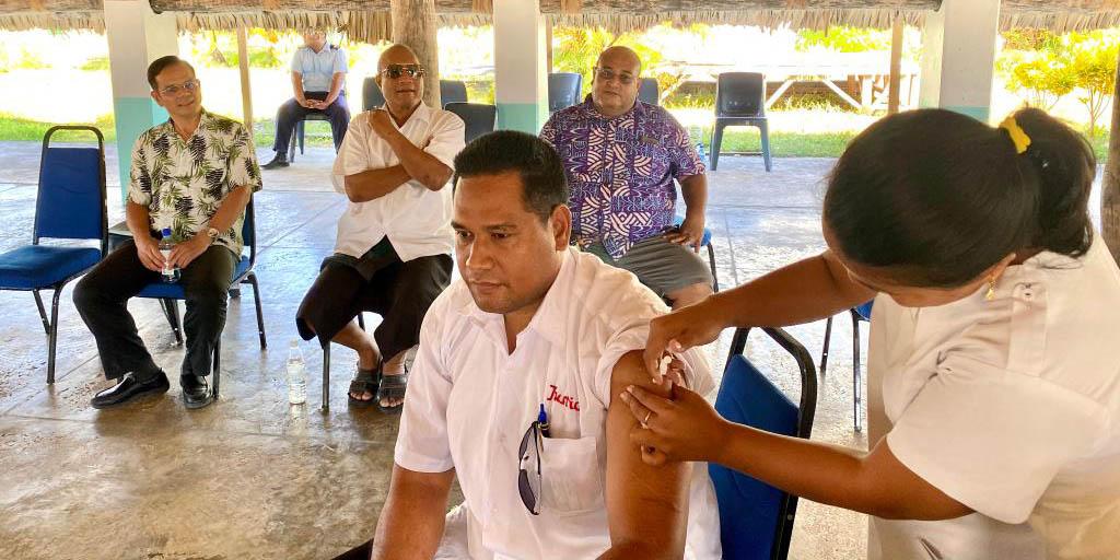 Kiribati inicia aplicação da vacina chinesa contra COVID-19