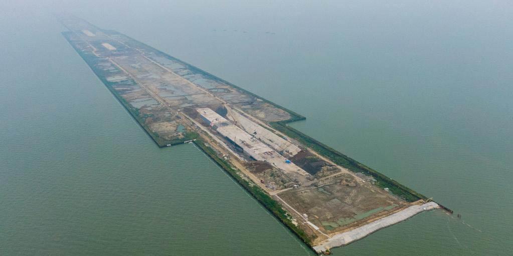 Terminam as obras da seção de Nanquan do túnel Taihu em Wuxi