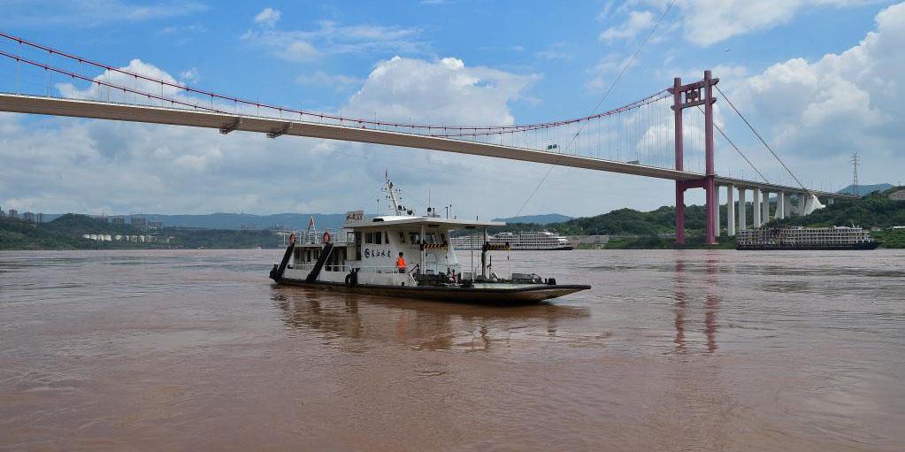Fotos: áreas atingidas por enchentes em Chongqing