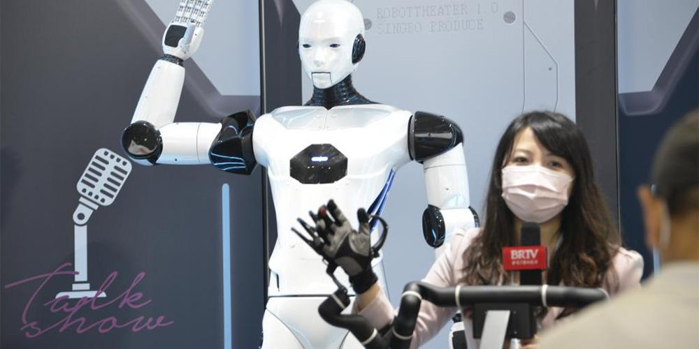 Conferência Mundial de Robótica 2021 abre em Beijing