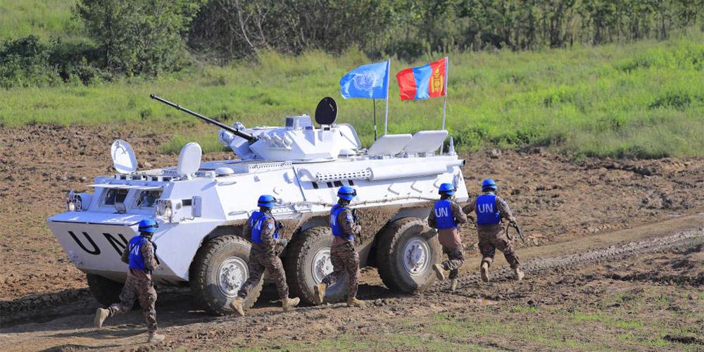 China realiza exercícios internacionais de manutenção da paz