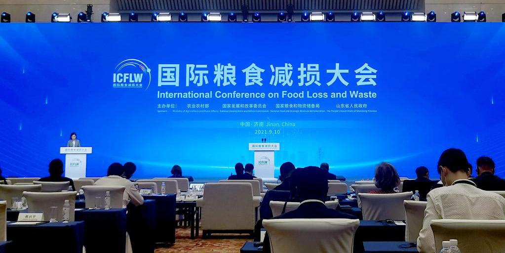 Conferência Internacional sobre Perda e Desperdício de Alimentos é aberta no leste da China