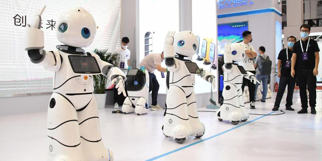 Florescente indústria robótica da China cria um futuro inteligente