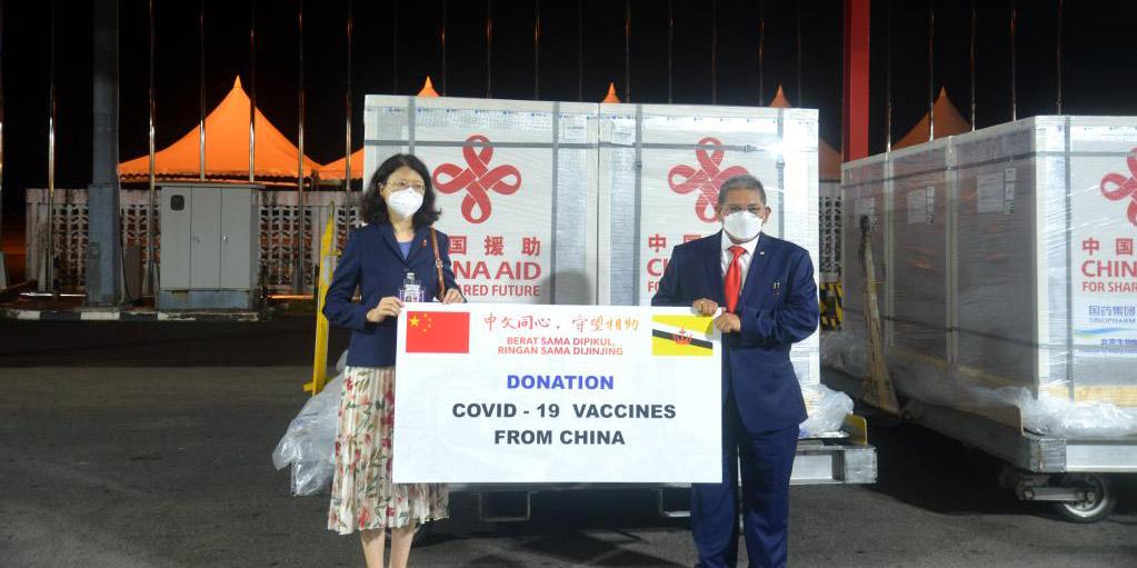 Brunei recebe segundo lote de doação chinesa de vacinas da Sinopharm