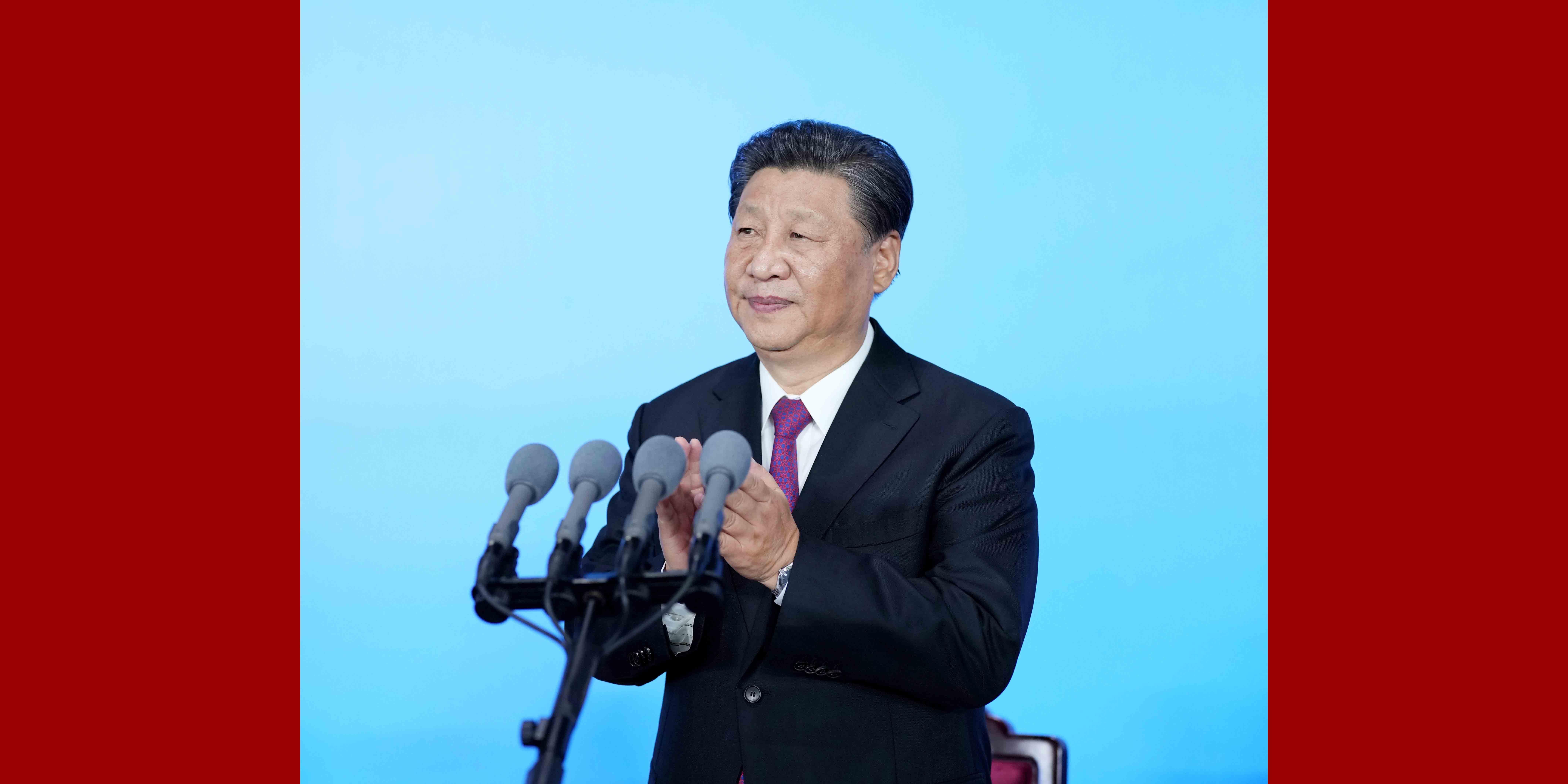 Presidente chinês declara abertura da 14ª edição dos Jogos Nacionais