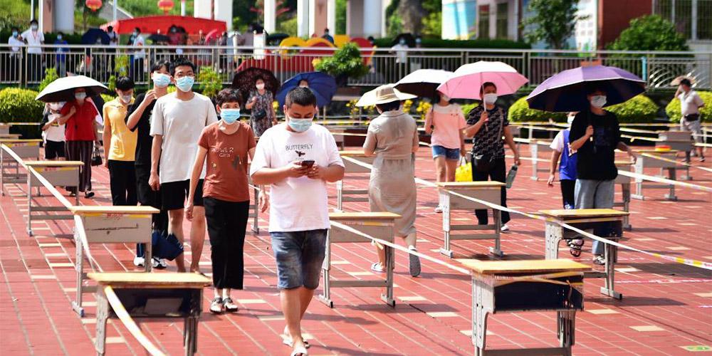 Província chinesa de Fujian registra 48 novos casos confirmados de COVID-19