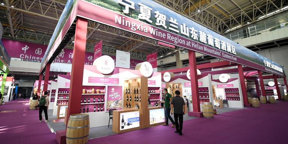 Ningxia sedia exposição internacional de turismo e da cultura do vinho
