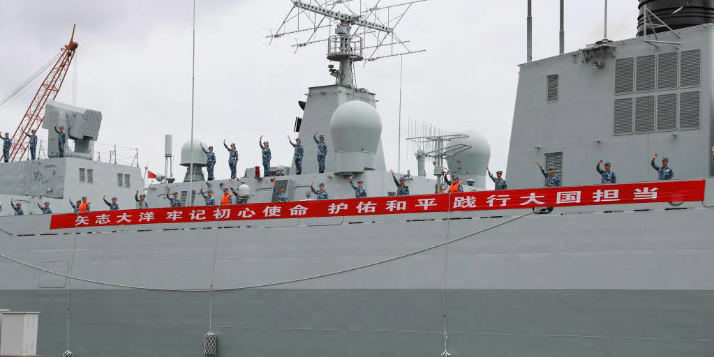 China envia nova frota em missão de escolta no Golfo de Aden