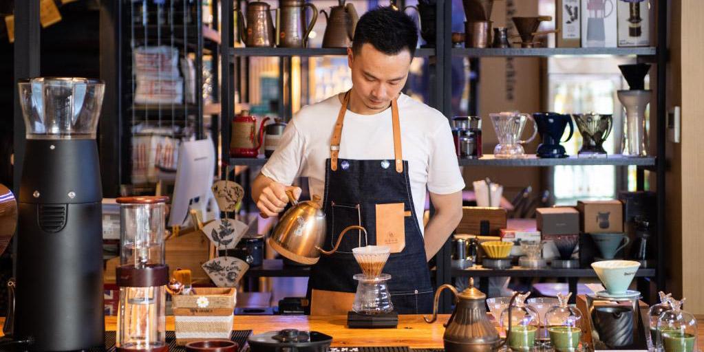 Café etíope ganha crescente popularidade no mercado chinês