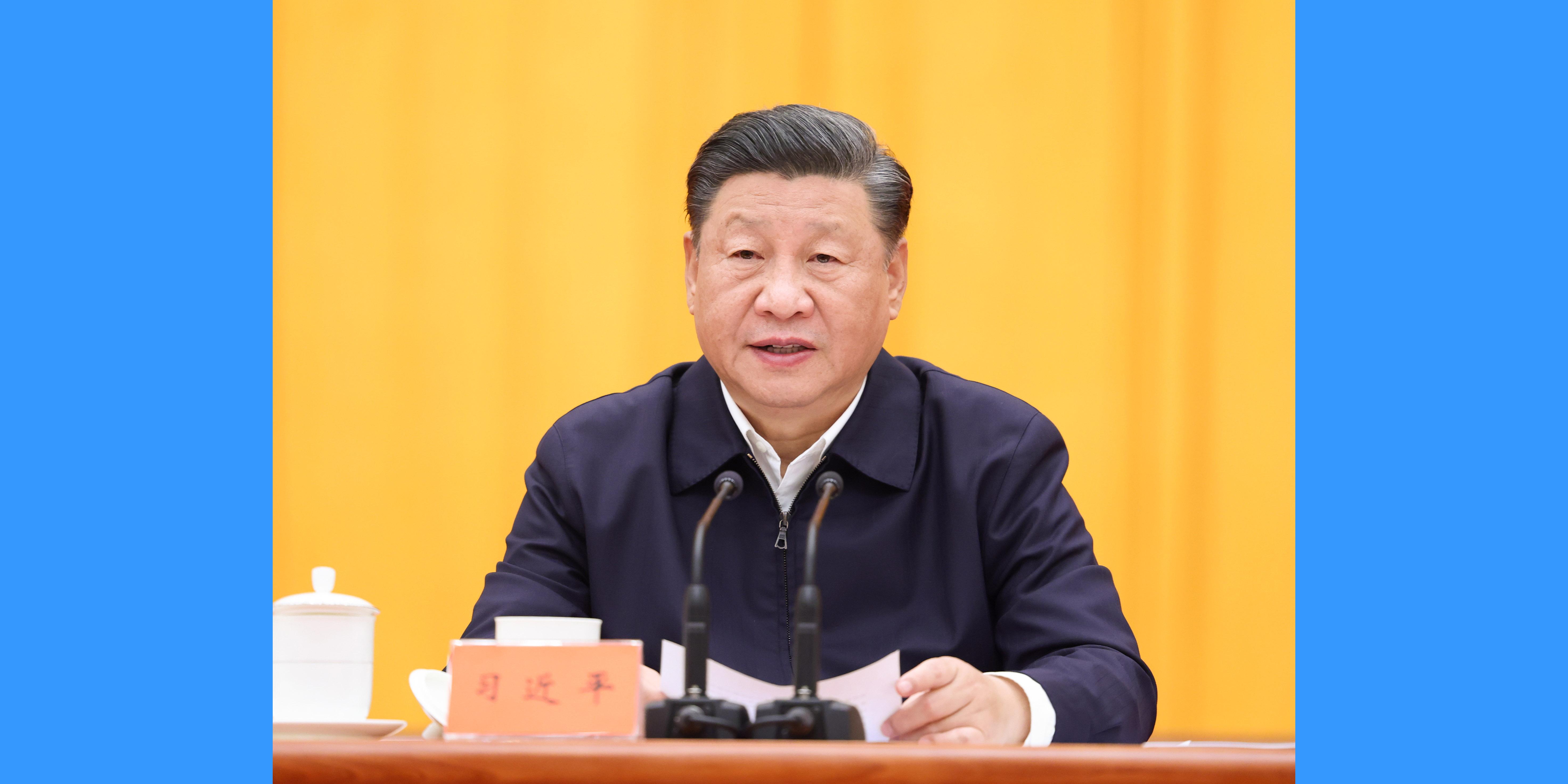 Xi destaca fortalecimento da democracia popular em todo o processo