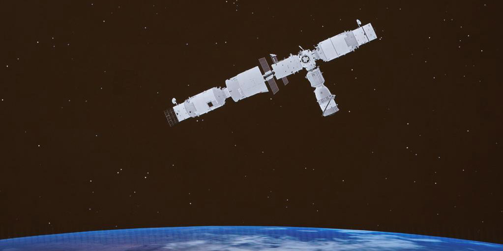 Espaçonave tripulada chinesa Shenzhou-13 acopla-se com módulo central da estação espacial