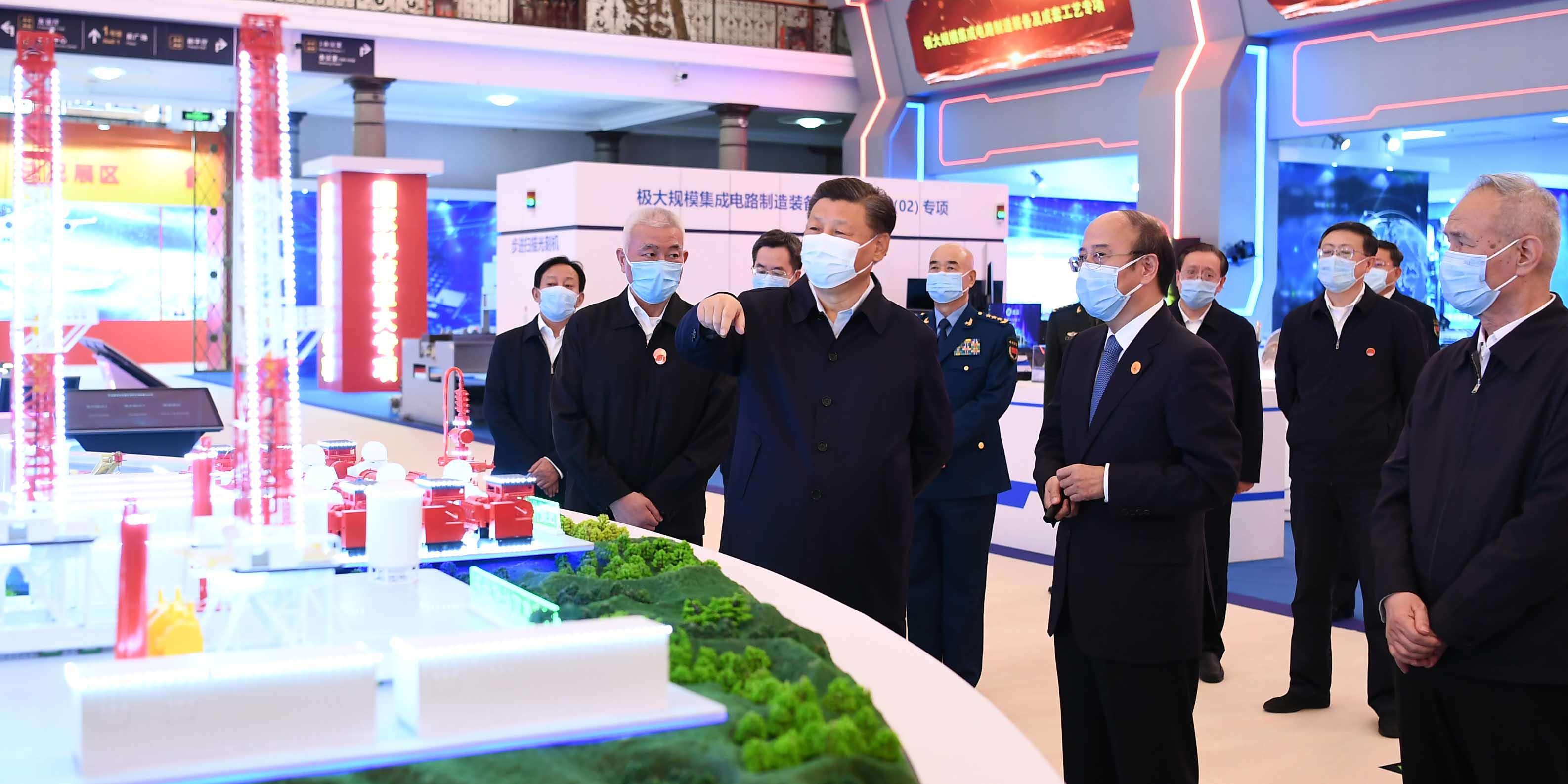 Xi pede construção da força chinesa em ciência e tecnologia